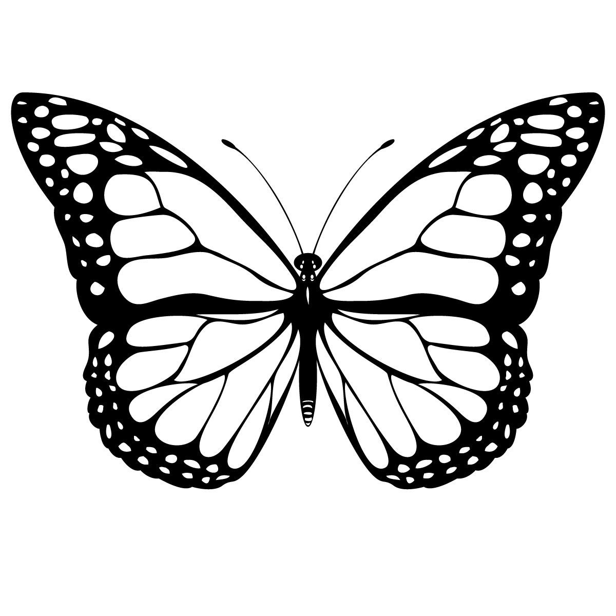 1200x1200 Monarch Butterfly Coloring Pages Beautiful Please Repin If You Are