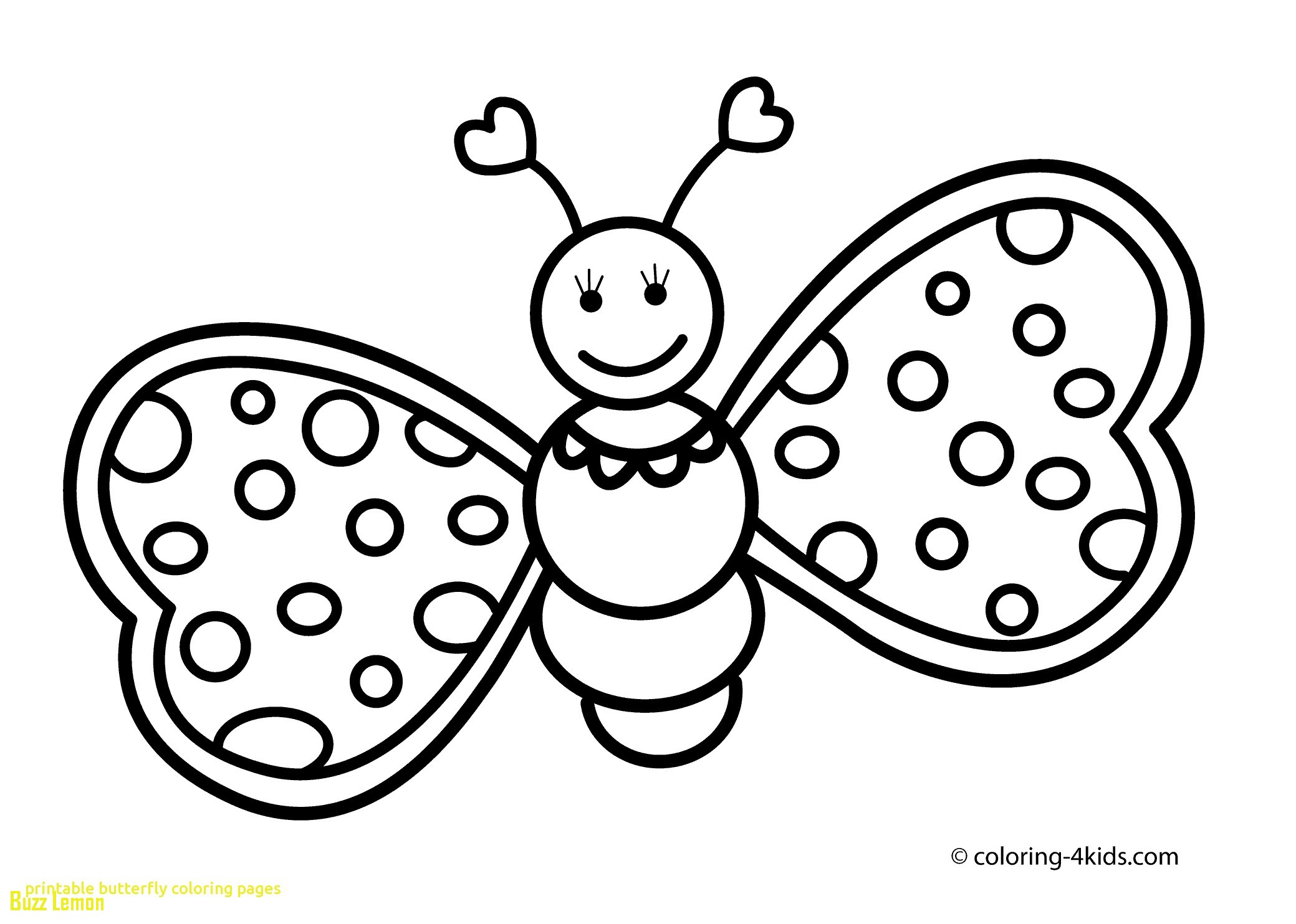2079x1483 Printable Butterfly Coloring Pages For Kids And Page