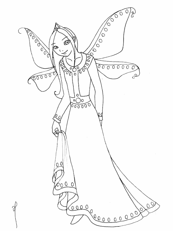 718x959 Fairy Coloring Pages Beautiful Fairies Coloring Pages Logo