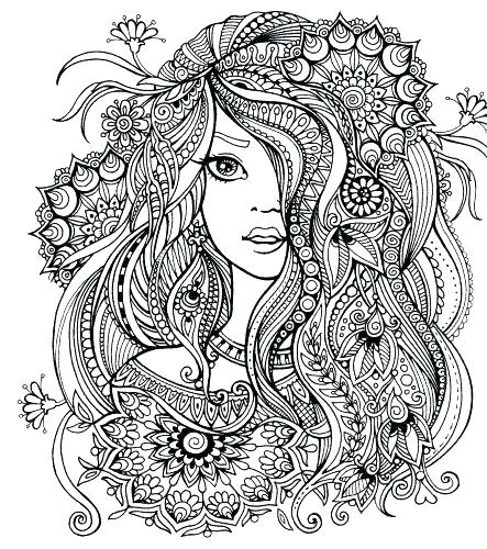 443x500 Free Fairy Coloring Pages Free Fairy Coloring Pages Detailed Fairy