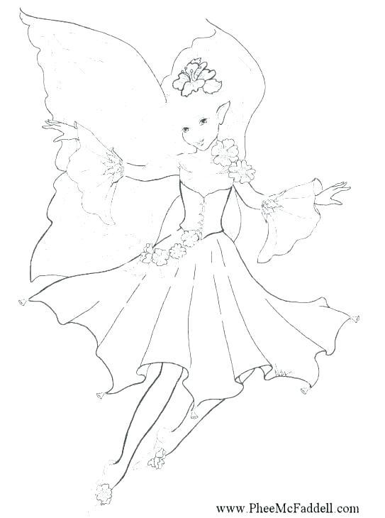 543x730 Free Fairy Printables