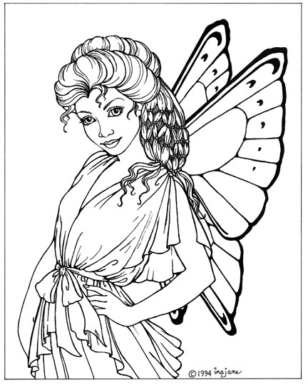 432x539 Beautiful Fairy Coloring Pages Fantasy Fairies I Coloring Pages