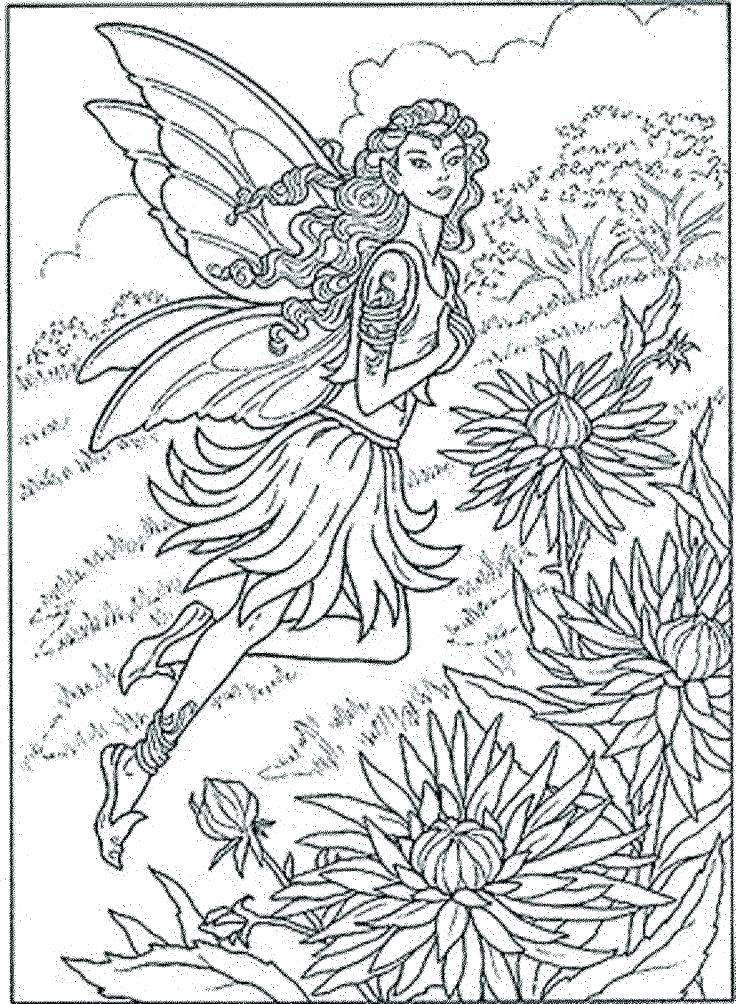 736x1004 Coloring Pages Fairies Beautiful Fairy Coloring Pages Coloring
