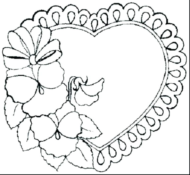 805x739 Coloring Pages With Flowers Coloring Pages Flowers Free Coloring