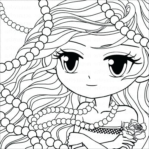 500x500 Pretty Girl Coloring Pages Girl Printable Coloring Pages Printable