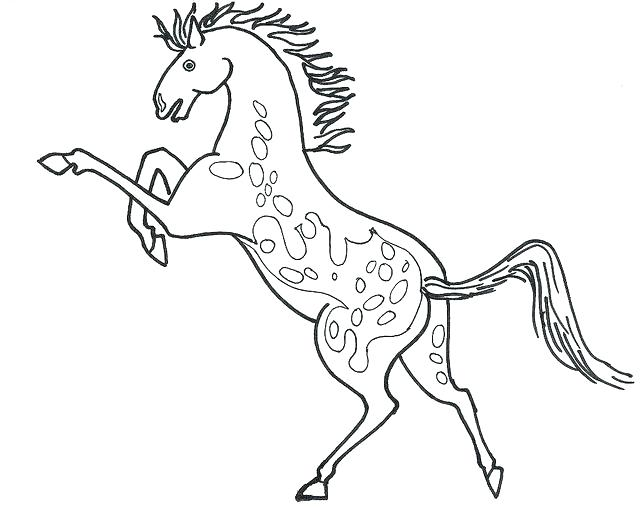 Beautiful Horse Coloring Pages At Getdrawings Com Free For