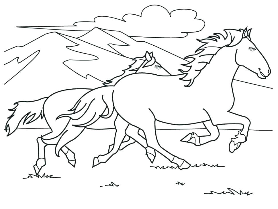 970x728 Spirit Horse Coloring Pages Horse Coloring Pages Horses Coloring