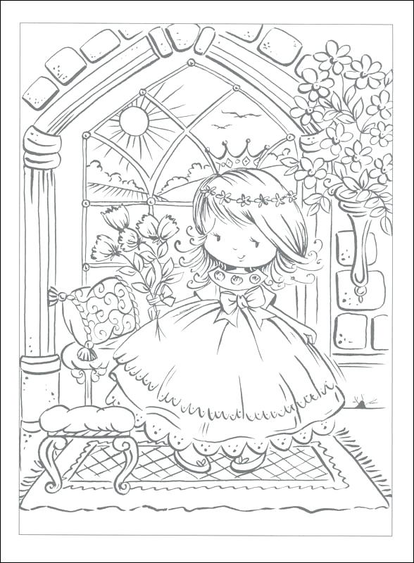 588x800 Pretty Princess Coloring Pages Beautiful Princess Coloring Pages