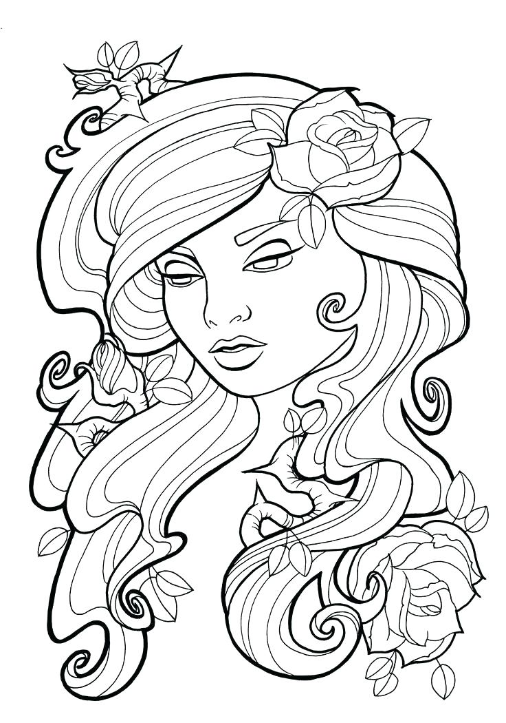 736x1050 Art Coloring Pages