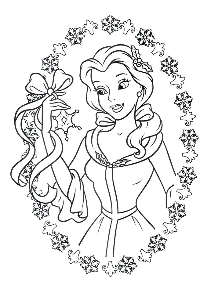 691x960 Beauty And The Beast Characters Coloring Pages And Beauty Beast