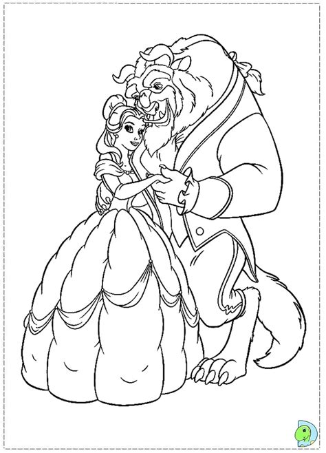 474x658 Beauty And The Beast Coloring, Beauty The Beast Coloring Page