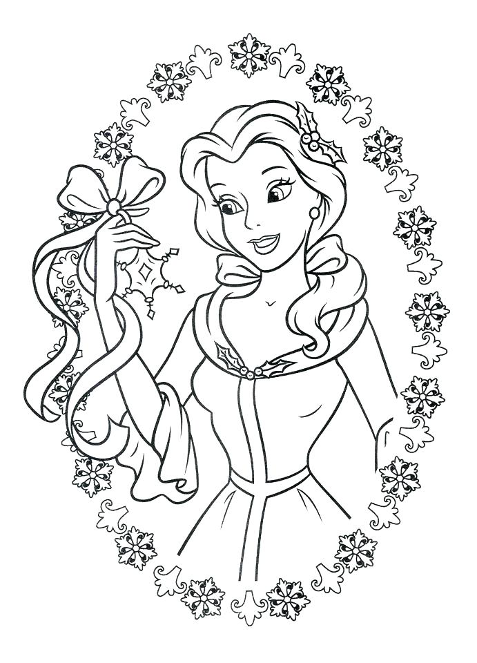 691x960 Beauty And The Beast Coloring Plus Beauty And The Beast Coloring