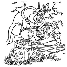 230x230 Amazing Disney Halloween Coloring Pages For Your Little Ones