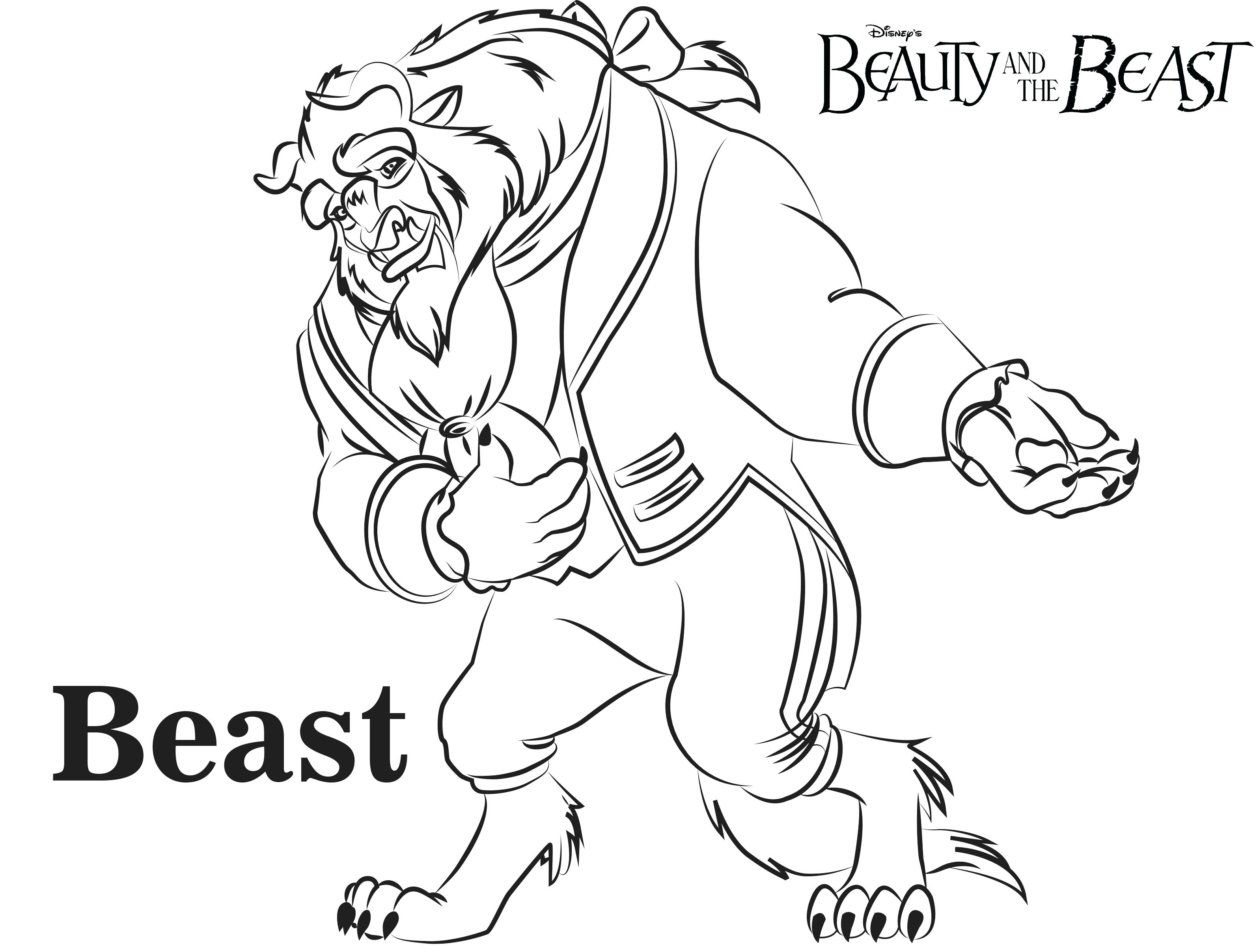 3188x2415 Delivered Gaston Coloring Pages Disney Villains Beauty