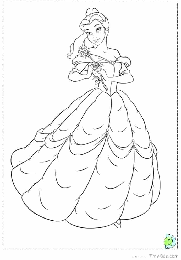 691x990 Beauty And The Beast Coloring Page Beauty And The Beast Coloring