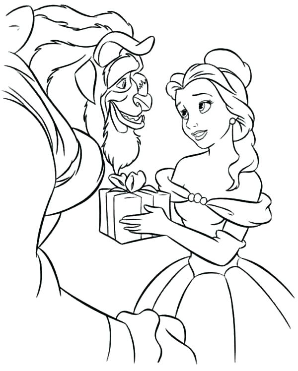 600x748 Disney Princess Coloring Pages Belle Belle Coloring Pages Beauty