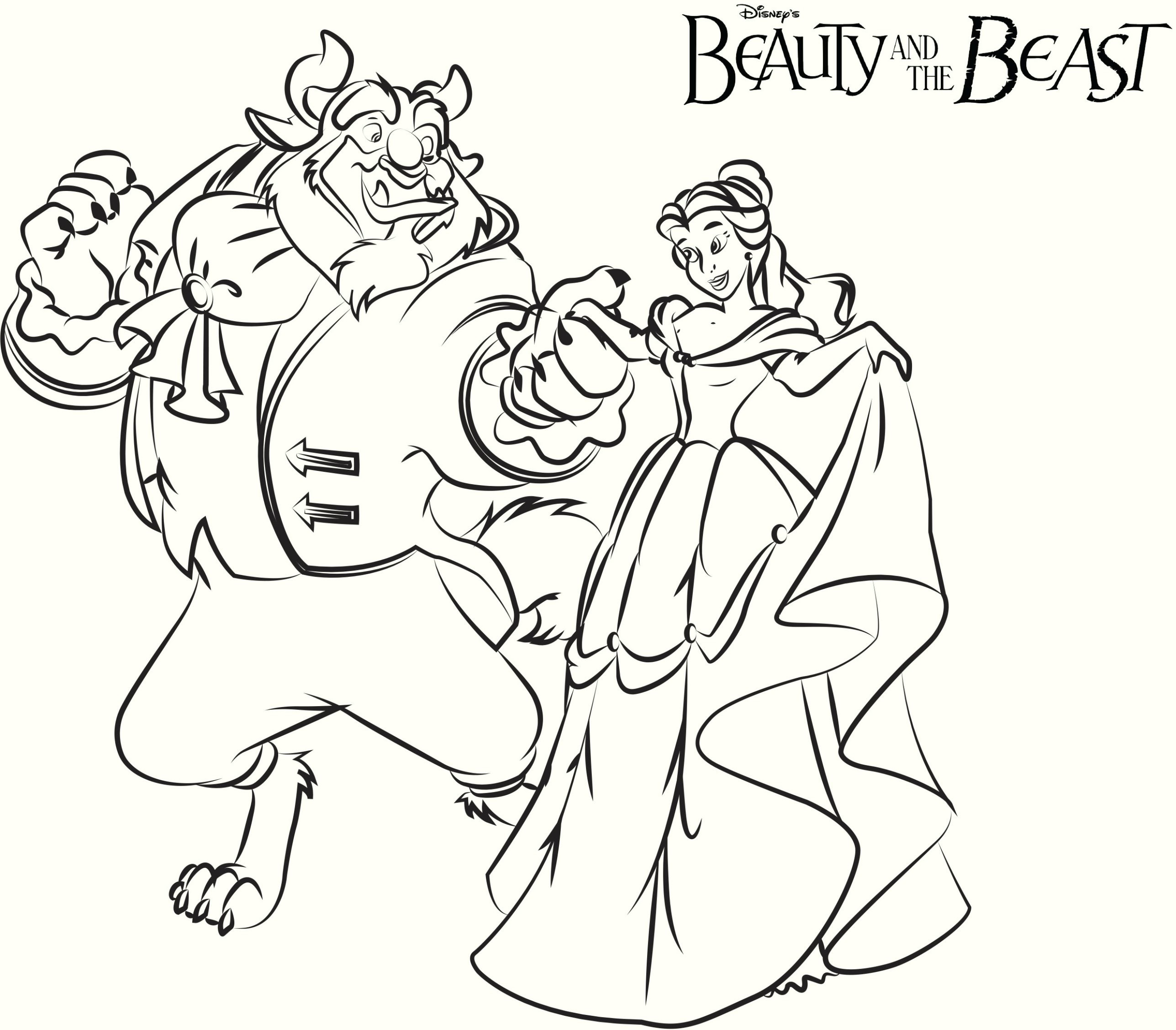 2575x2255 Fresh Printable Coloring Pictures Of Beauty And The Beast