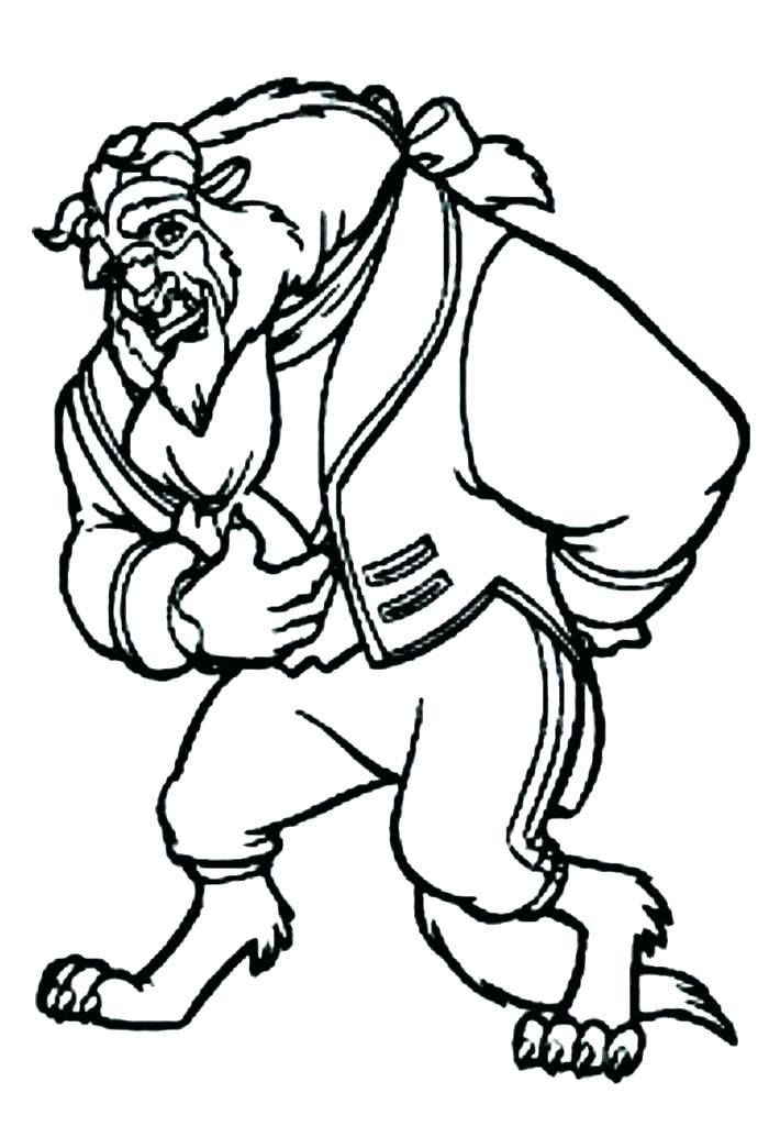 700x1024 Beauty And The Beast Coloring Pages Beauty And Beast Coloring Page
