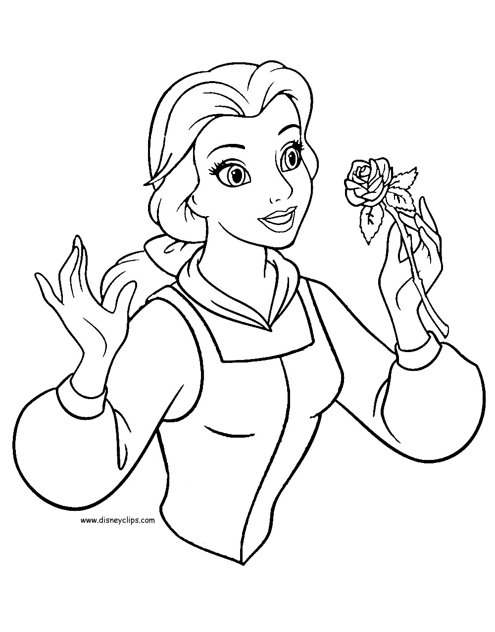 1000x1278 Beauty And The Beast Rose Coloring Pages New Beauty And The Beast