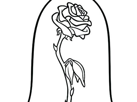 440x330 Disney Coloring Pages Beauty And The Beast