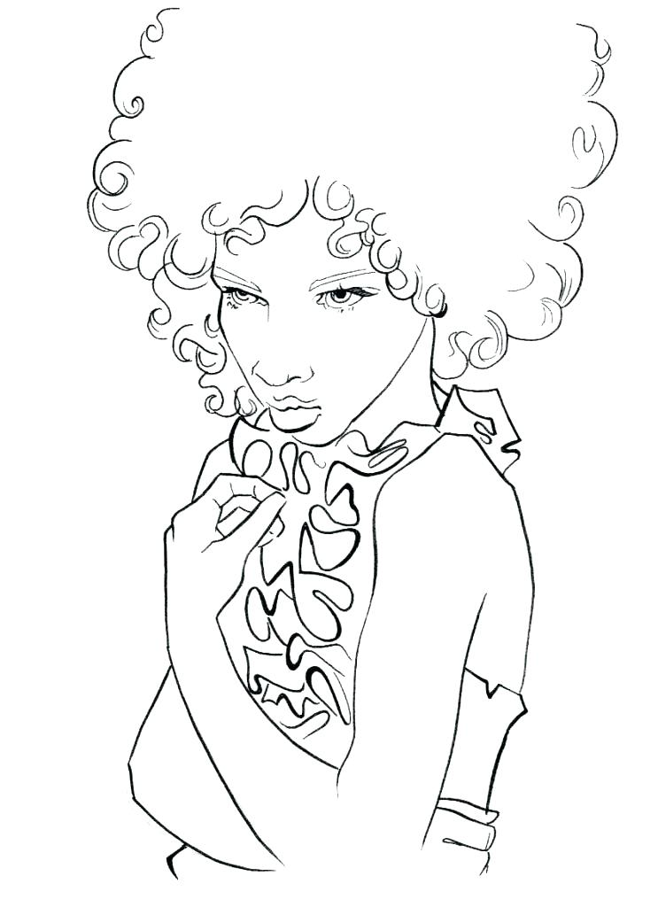 743x1024 Hair Salon Coloring Pages