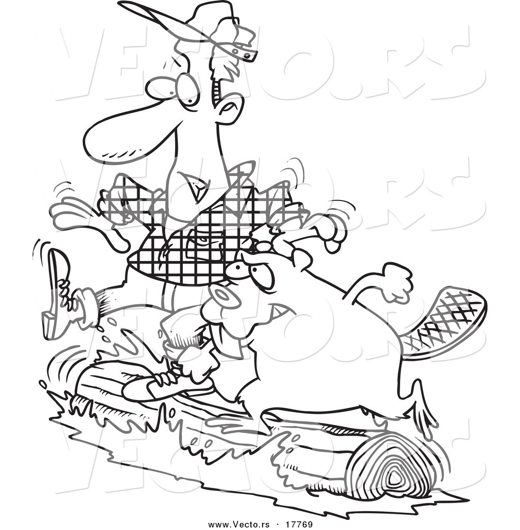 1024x1044 Immediately Lumberjack Coloring Pages Vector Of A Cartoon