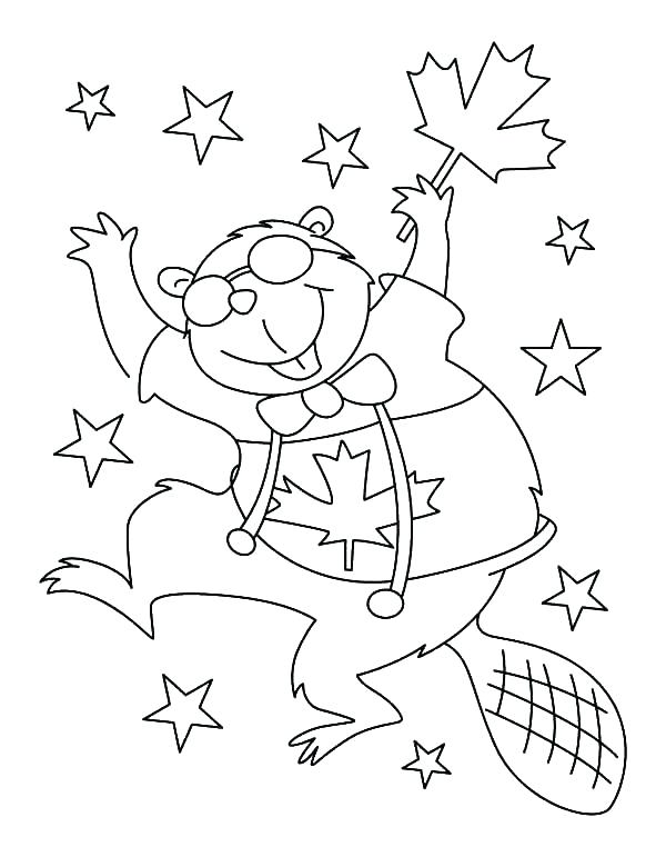 600x771 Beaver Coloring Page Coloring Pages Coloring Pages Beaver Dance