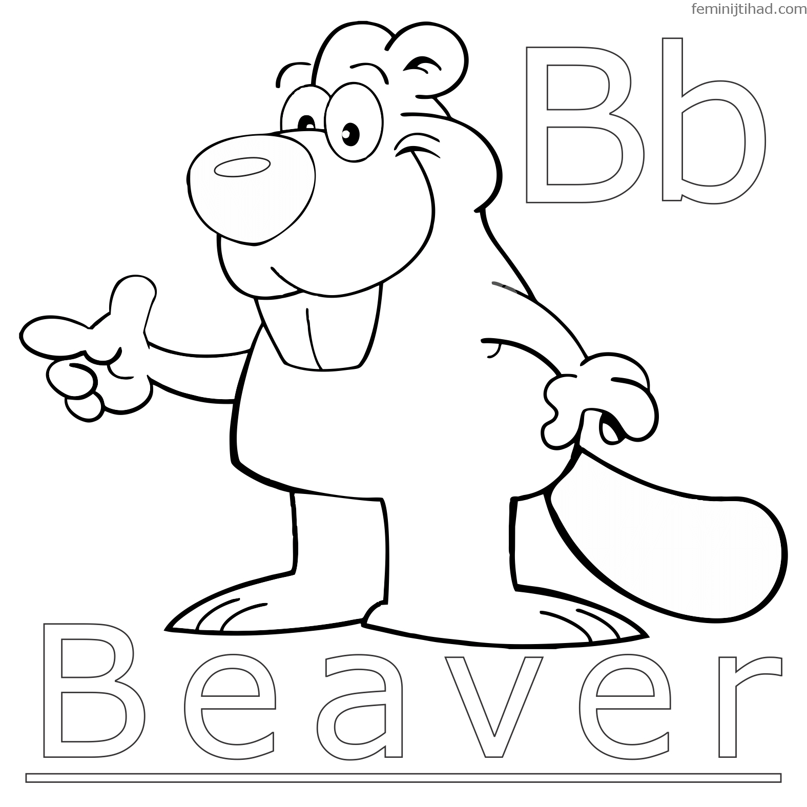 1575x1575 Beaver Coloring Pages To Print For Free Coloring Pages For Kids