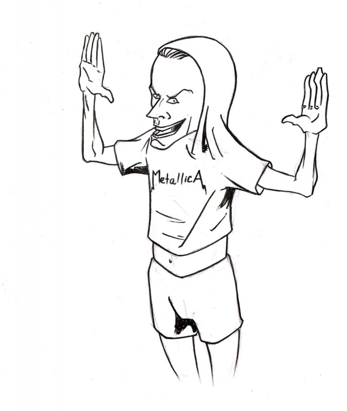 675x800 Beavis And Butthead Coloring Pages Coloring Pages Kids Collection