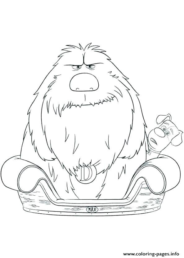 593x832 Bed Coloring Pages Monster Coloring Page My Bedroom Coloring Pages