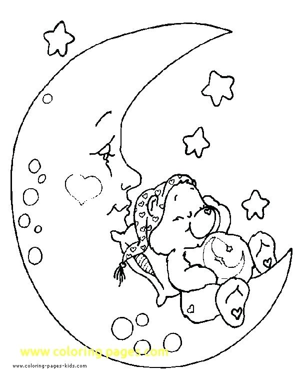 590x759 Bedtime Coloring Pages Bed Coloring Page Monkeys Jumping