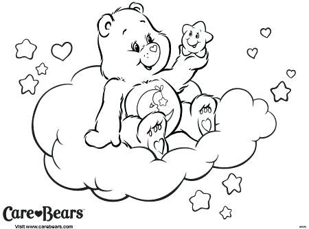 450x334 Bedtime Coloring Pages Grumpy Cheer Harmony Love A Lot Laugh A Lot