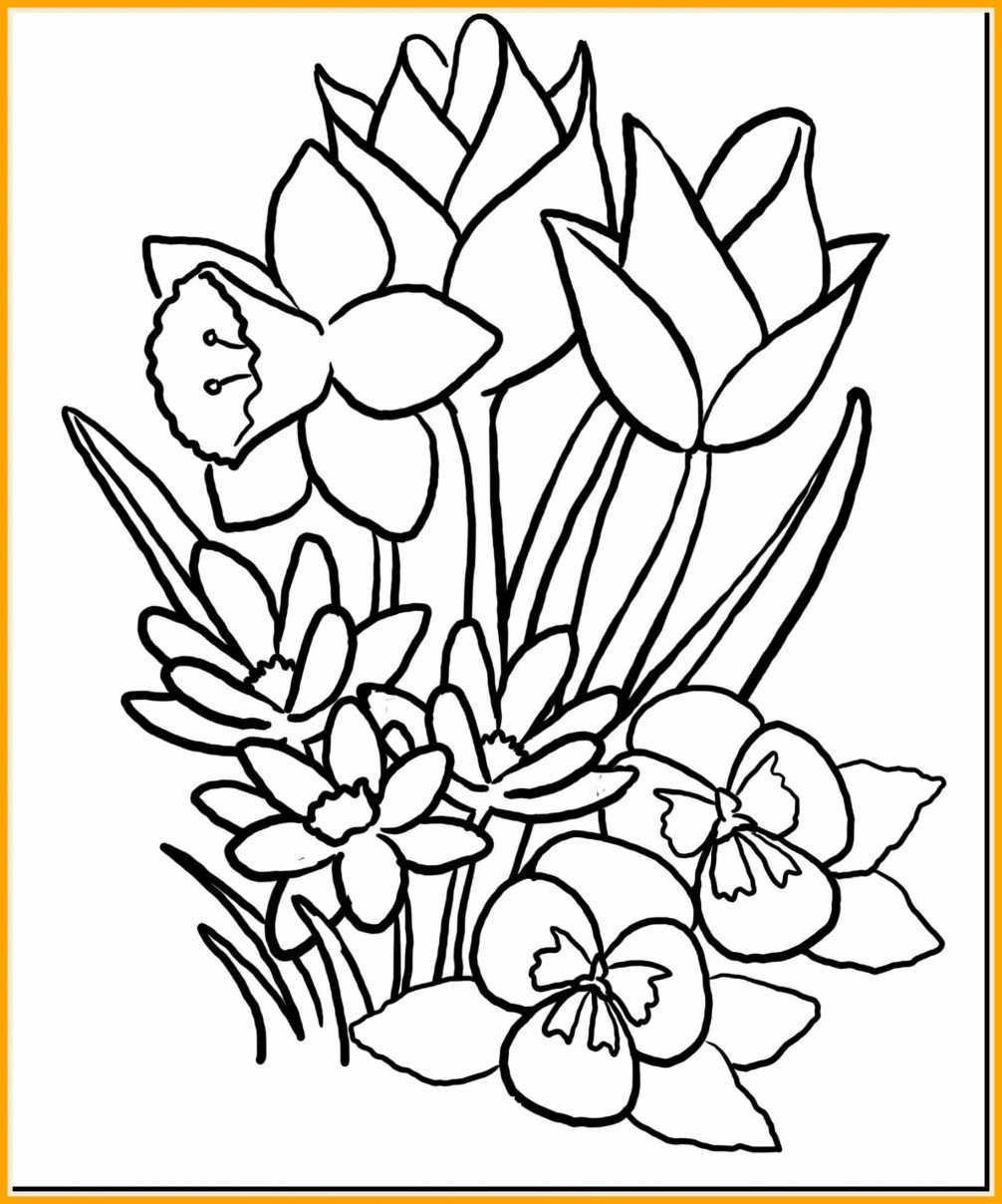 1006x1208 Appealing A The Bee On Flower Coloring Pages For Kids Pic