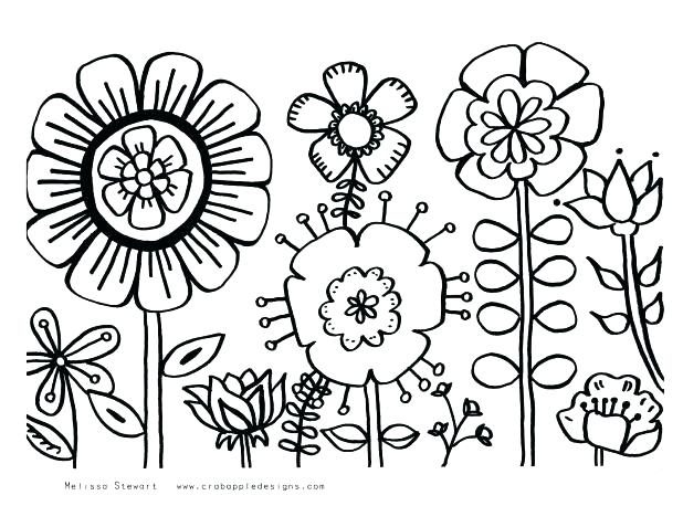 618x477 Coloring Pages Online Flowers Color A Bee And Rose Page Hearts