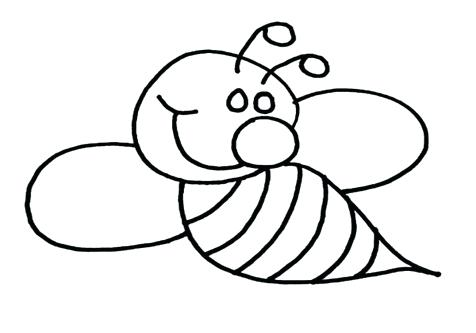 476x333 Bee Coloring Pages Honey Bee Pictures To Color Honey Bee Coloring