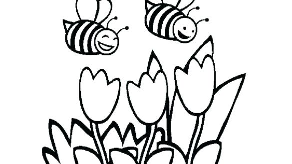 585x329 Bumble Bee Coloring Pages Bumble Bee Coloring Pages Page Bumblebee