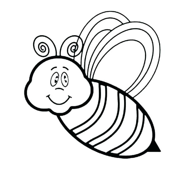 600x600 Bumblebee Coloring Page Bumble Bee Coloring Page Bumblebee
