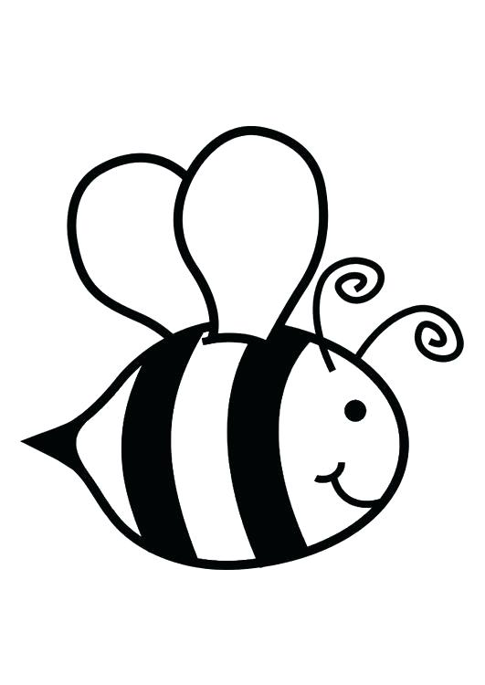 531x750 Honey Bee Coloring Pages In Addition To Kids Printable Honey Bees
