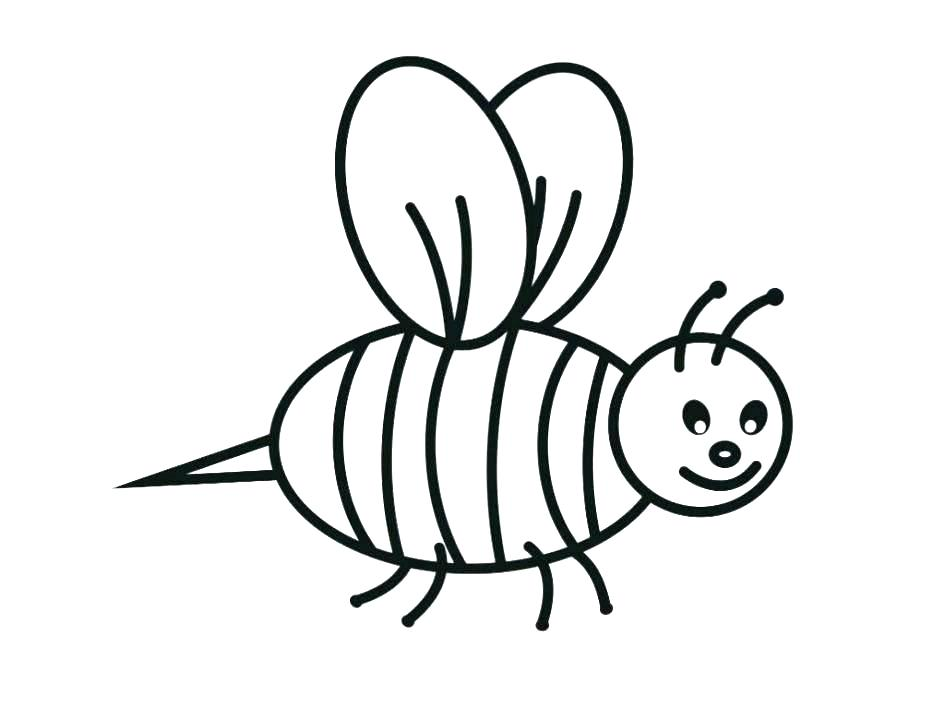 945x709 Honey Bee Coloring Pages