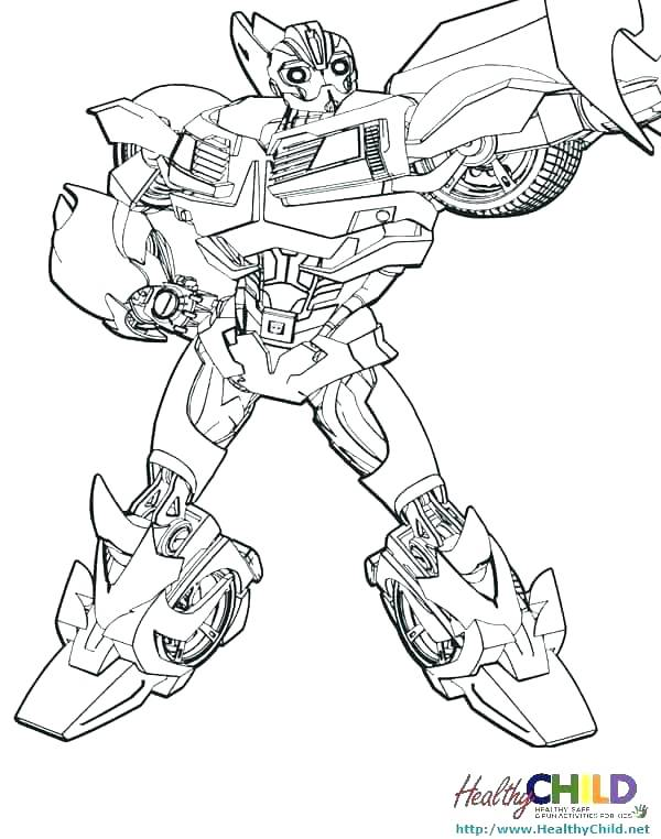 600x762 Bumble Bee Coloring Pages Bumblebee Transformer Coloring Pages