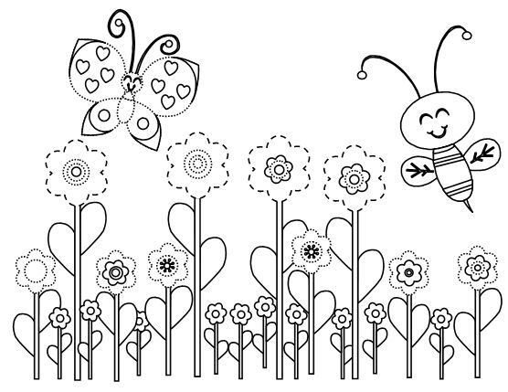 556x429 Best Bee Coloring Pages Images On Bees, Coloring