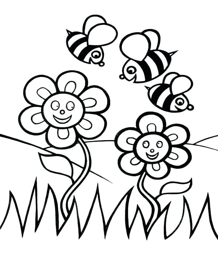 700x835 Honey Bee Pictures To Color Honey Coloring Pages Honey Beehive