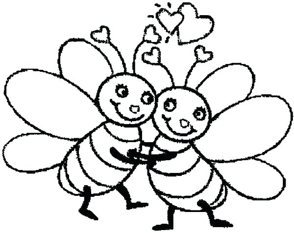 600x477 Bee Coloring Page Indiantribesinfo Bee Coloring Page Bumble Bee