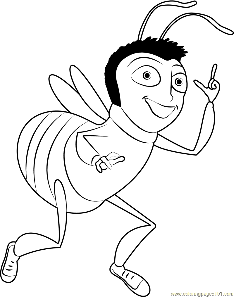 800x1016 Martin Benson Coloring Page