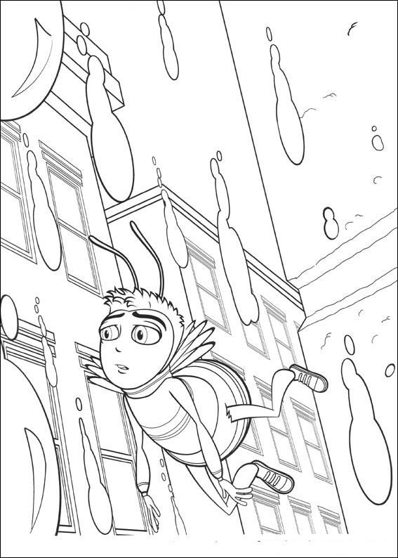 567x794 Bee Movie Coloring Pages Unique Download Bee Movie Coloring Page