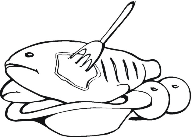 630x450 Meat Coloring Pages