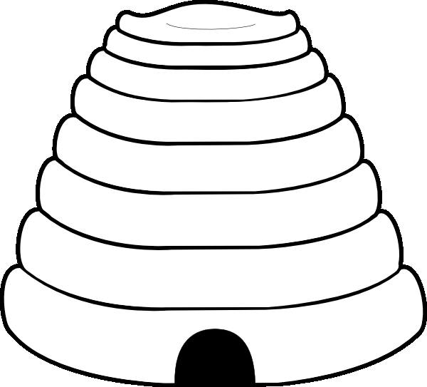 600x543 Bumble Bee Hive Coloring Pages Education Bees