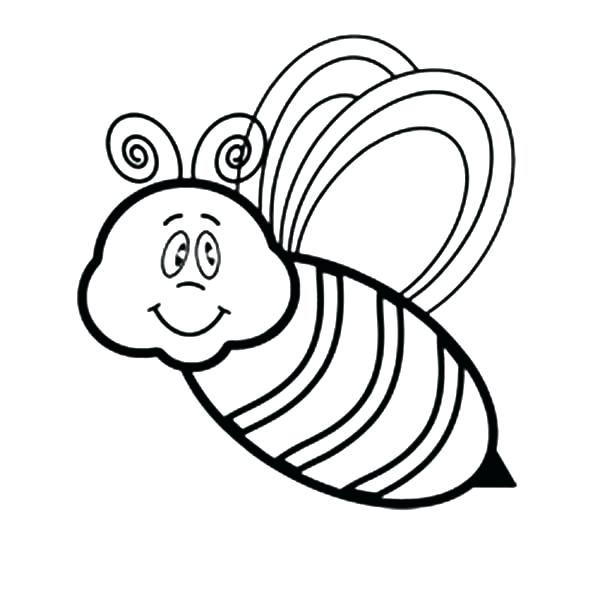 600x600 New Bee Coloring Pages Or Bumble Bee Coloring Pages Beehive