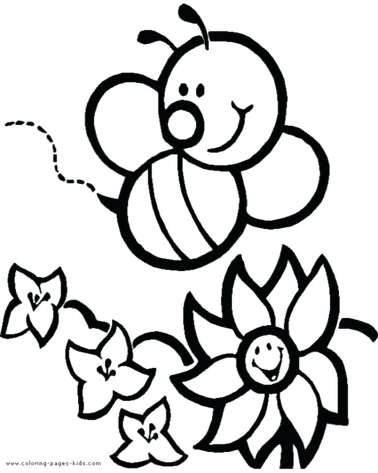 768x960 With Bee Coloring Pages Click Here To Leave The Bee Coloring Pages