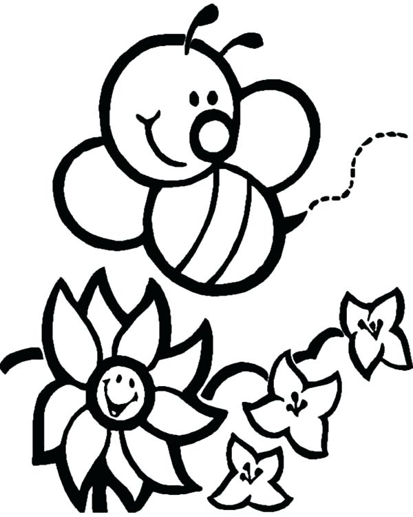 600x750 Honey Bee Pictures To Color